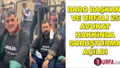 Photo of Baro başkanı ve 25 avukat hakkında soruşturma