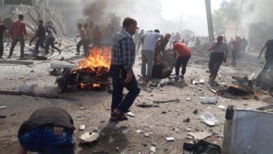 Photo of Bomba yüklü araç patladı : 15 ölü