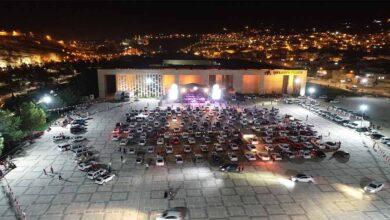 Photo of Şanlıurfa'da otomobilde açık hava konseri