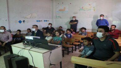 Photo of Süriye'li çocuklar ilk defa sinema izledi