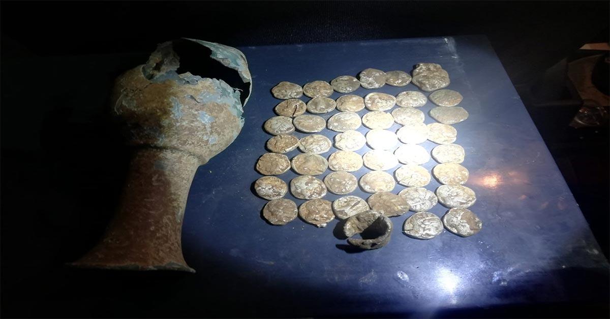 tarihi kup sikke bulundu