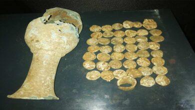 Photo of Urfa'da Su hattı kazısında bir küp sikke bulundu