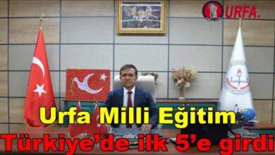 Photo of Urfa milli eğitim Türkiye'de ilk 5'e girdi