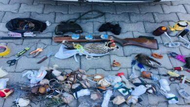 Photo of Urfa'ya gelirken Yırtıcı kuş kaçakçılarıyakalandı