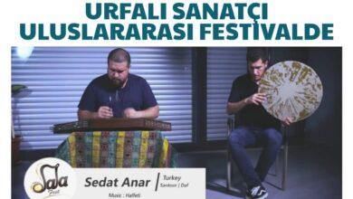 Photo of Urfalı sanatçı uluslararası festivalde