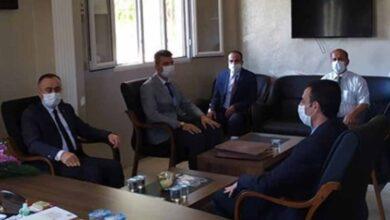 Photo of Akçakale Kaymakamı, İlçe Müftülüğünü Ziyaret Etti