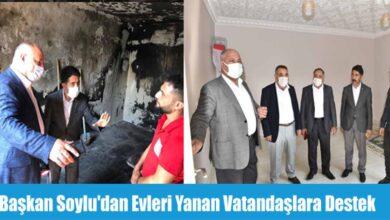 Photo of Başka Soylu'dan evleri yana vatandaşlar destek