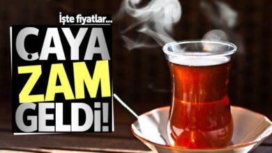 Photo of Çay 100 TL oldu