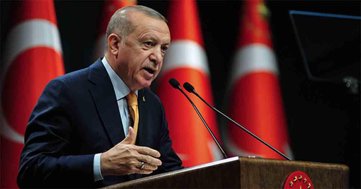 Cumhur Başkanı Erdoğan