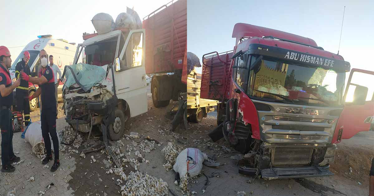 urfa trafik kazası
