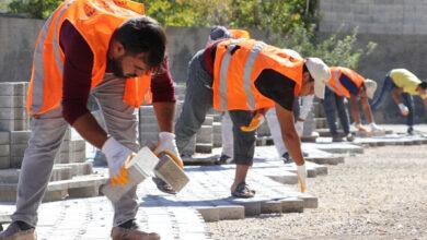 Photo of Karaköprü Kırsalında Kilitli Parke Çalışmaları Sürüyor