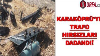 Photo of Karaköprü'de trafo hırsızları