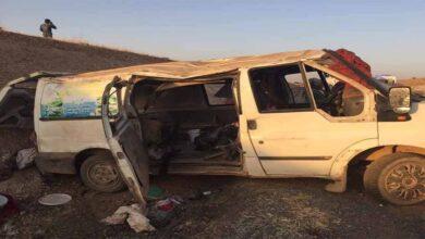 Photo of Şanlıurfa'da minibüs devrildi: 1 ölü, 11 yaralı