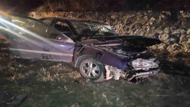 Photo of Minibüs ile otomobil çarpıştı: 10 yaralı