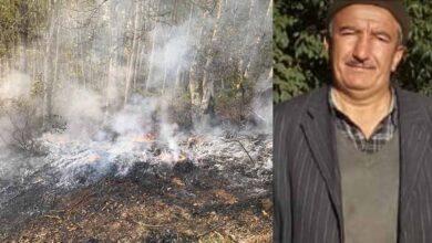 Photo of Orman yangınına müdahale ederken yanarak can verdi