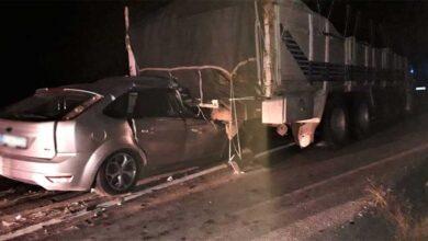 Photo of Otomobil kamyona çarptı: 1 ölü