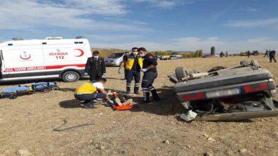 Photo of Otomobil tarlaya savruldu: 7 yaralı