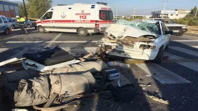 Photo of Otomobil Tır'ın altına girdi: 1 ölü, 3 yaralı