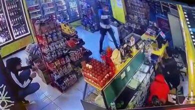 Photo of İzmir'de 7 kişi pompalı silah ve sopalarla tekel bayisini bastı