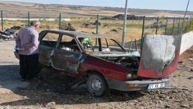 Photo of Şanlıurfa'da otomobil alev topuna döndü