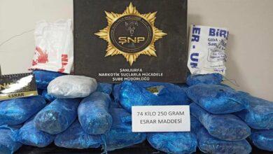 Photo of Şanlıurfa'da uyuşturucu operasyonu: 16 tutuklama