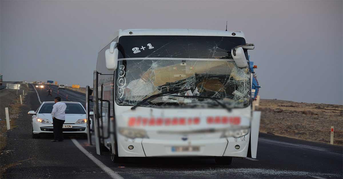 urfa da trafik kazası