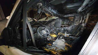 Photo of Seyir halindeki kamyonet yanarak kül oldu