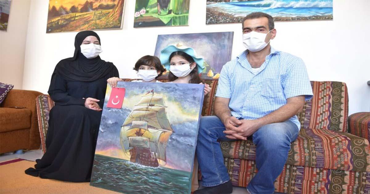 süriyeli sığınmacı urfa'da hayata tutundu