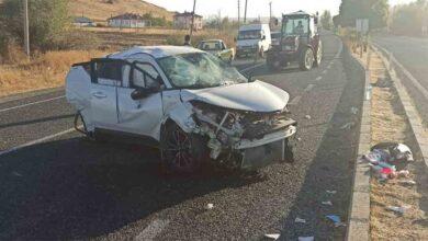 Photo of Trafik kazası:3 yaralı