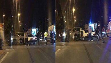 Photo of Otomobil ile ticari araç çarpıştı: 10 yaralı