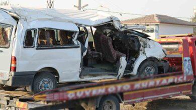 Photo of Beton direğe çarptı: 2 ölü, 6'sı ağır 20 yaralı
