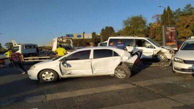 Photo of Şanlıurfa'da 5 araç birbirine girdi