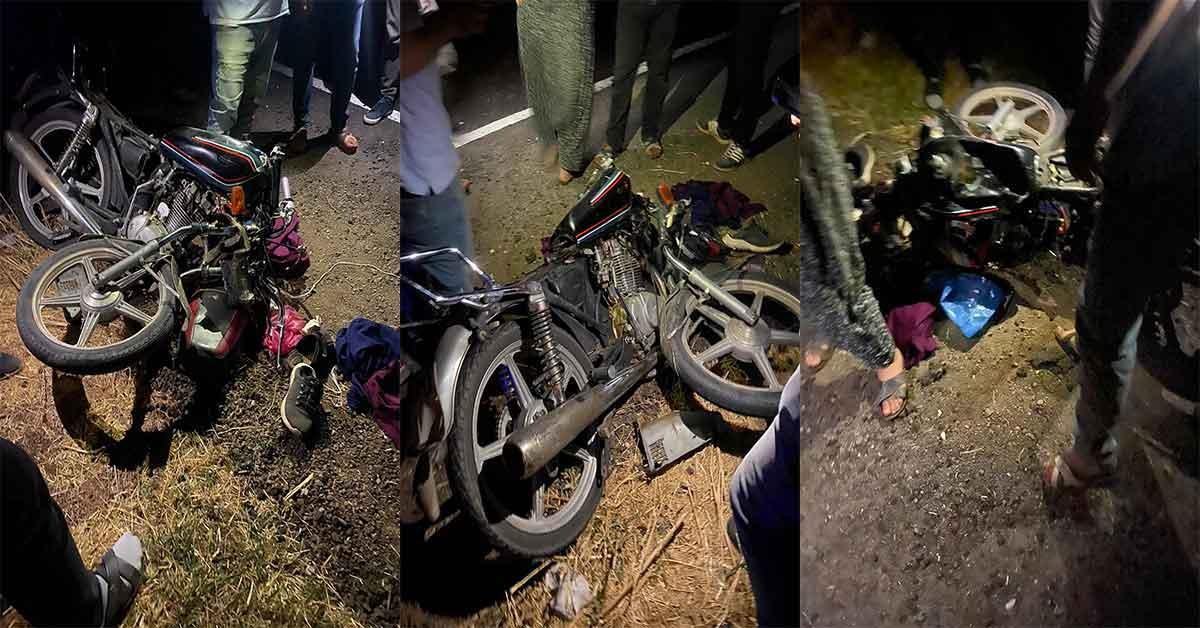 urfa da motosiklet kazası