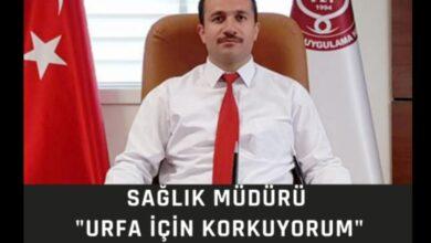 Photo of Sağlık müdürü Urfa için korkuyorum
