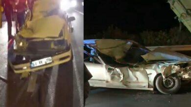 Photo of Urfa'da otomobil odun yüklü kamyona arkadan çarptı