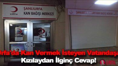 Photo of Urfa'da Kan Vermek İsteyen Vatandaşa Kızılaydan İlginç Cevap