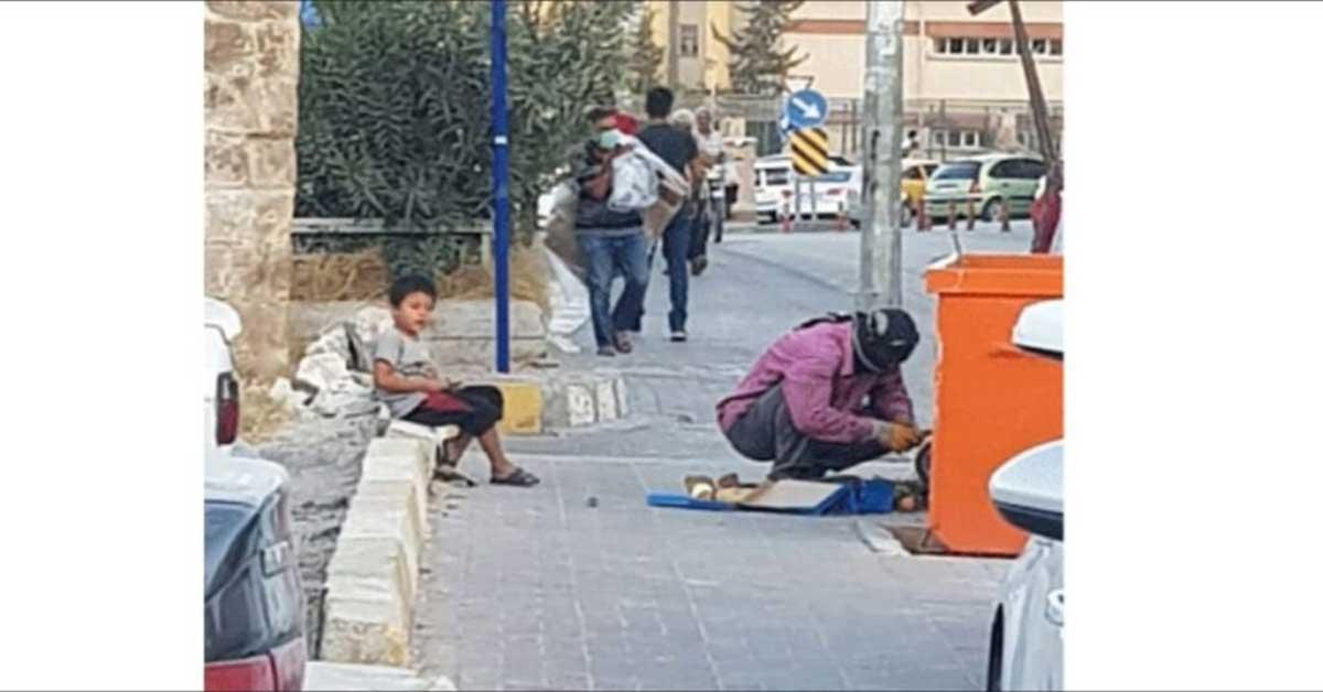 Urfa'da Suriyeli üçkağıtçılığı