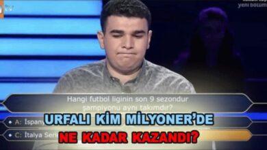 Photo of Urfalı Öğrenci Kim Milyoner Olmak İster'de yarıştı