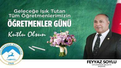 Photo of Başkan Soylu'dan 24 Kasım Öğretmenler Günü Mesajı