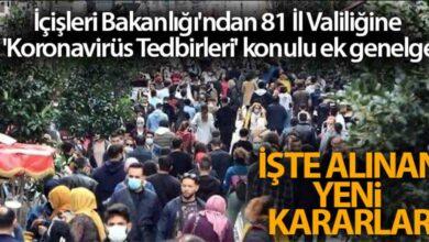 Photo of 65 Yaş Üstü Yasak Geldi