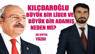 Photo of Kılçdaroğlu büyük bir adamış neden mi?