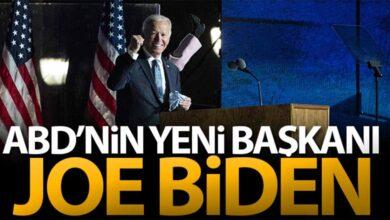 Photo of ABD'deki başkanlık seçimini Joe Biden kazandı