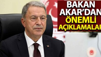 Photo of Bakan Akar'dan önemli açıklamalar
