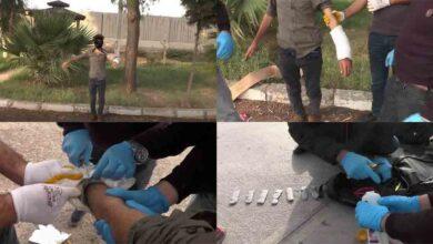 Photo of Terörist bombayı kolundaki alçıda kamufle etmiş