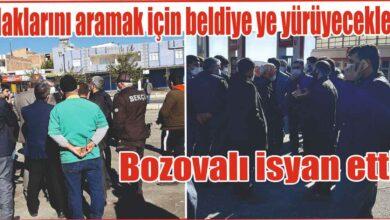 Photo of Urfa'da Haklarını aramak için belediye'ye yürüyecekler