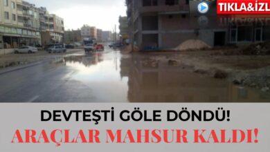 Photo of Devteşti Göle Döndü! Araçlar Mahsur Kaldı