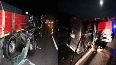 Photo of Feci kaza: 2 ölü, 3 yaralı