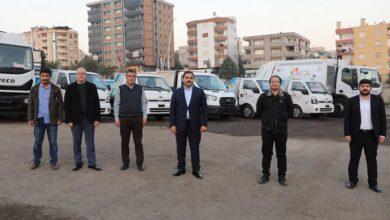Photo of Haliliye'de araç filosu artırıldı