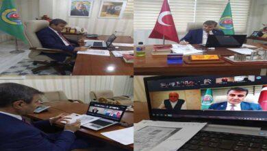 Photo of İpar Telekonferans ile toplantı gerçekleştirdi