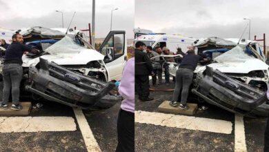 Photo of Kamyonet kamyona arkadan çarptı: 3 yaralı